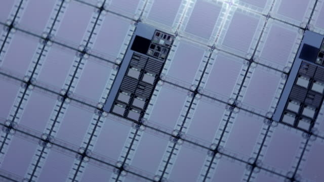 microchips fabrication - conductor stock videos & royalty-free footage