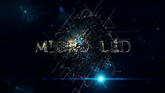 micro-led cube - video wall stock videos & royalty-free footage
