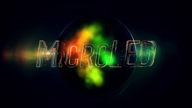 vidéos et rushes de titre microled - télévision haute définition