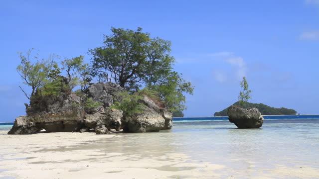 micronesia - desert island stock videos & royalty-free footage