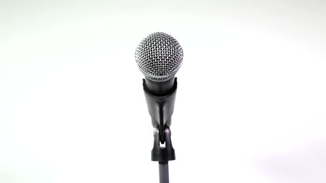microphone - microphone stock videos & royalty-free footage