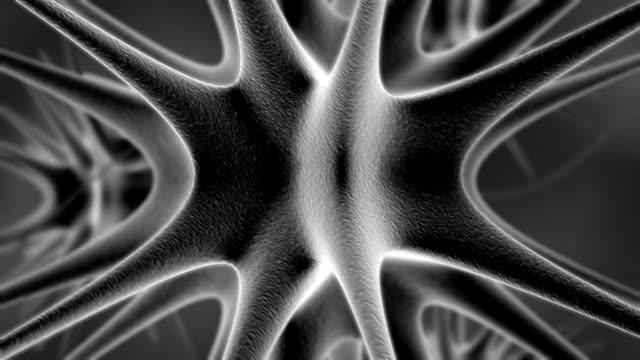 virus di microscopiche - herpes video stock e b–roll