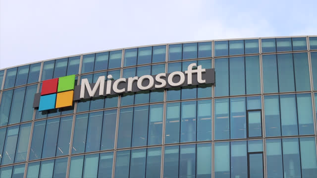 microsoft headquarters, france - making money stock videos & royalty-free footage