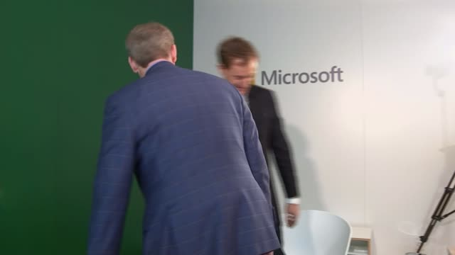 Microsoft warns of danger posed by mass surveillance unless facial recognition is regulated SWITZERLAND Davos World Economic Forum EXT International...