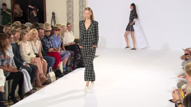 Mid looks at Temperley London SS15 London Fashion Week on 14th September 2014 in London England