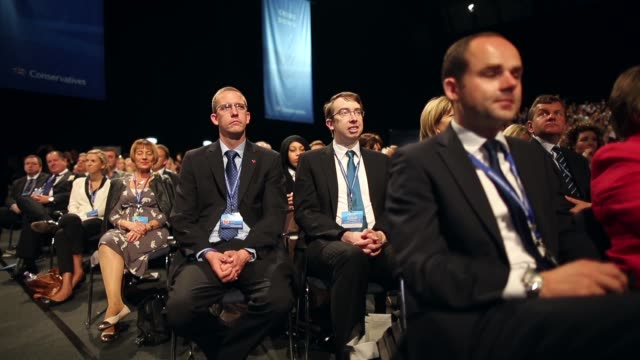 Mid Shot general view of delegates taking part in the 2013 Annual Conservative Party Conference in Manchester The five day conference had keynote...
