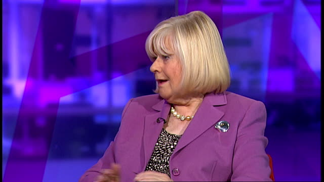 mid staffordshire nhs trust inquiry published; england: london: gir: int anne clywd mp live studio interview sot janet davies live studio interview... - biggest stock videos & royalty-free footage