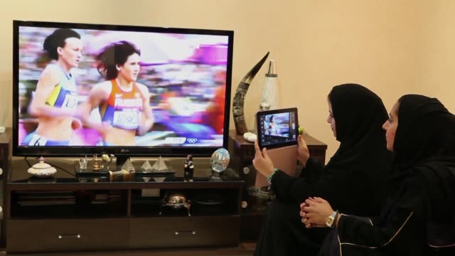 middle distance runner sarah attar made history on wednesday, becoming the first female athlete to represent saudi arabia in olympics track and field... - 800 metre stock videos & royalty-free footage
