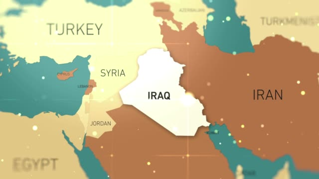 World\'s Best Iraq Map Stock Video Clips and Footage - Getty ...