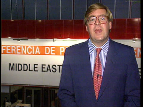 Day 1 ITN SPAIN Madrid Edward Stourton i/c SOF sign off