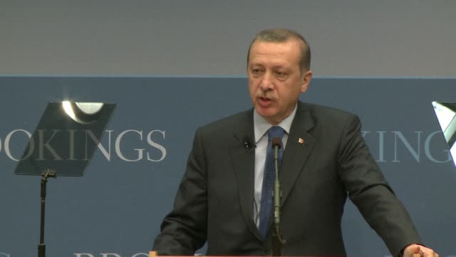 middle east peace will prove impossible without unity between the palestinian factions hamas and fatah turkish prime minister recep tayyip erdogan... - recep tayyip erdoğan stock videos & royalty-free footage