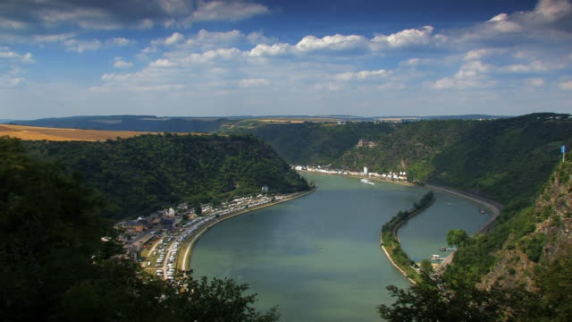 middle rhine - river rhine stock videos and b-roll footage