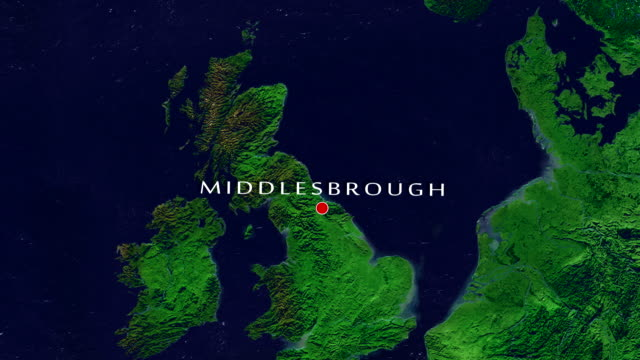 middlesbrough zoom in - middlesbrough stock videos and b-roll footage