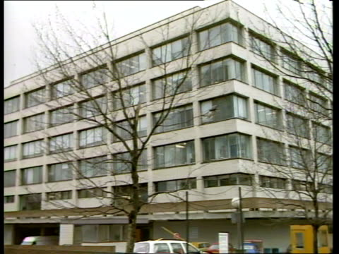 ST THOMAS' RCN STRIKE PETITION **** RUSHES KEPT Middlesex Ealing Hospital INT MS Nurse puts vote slip in ballot box CMS SIDE Male nurse LR amp puts...