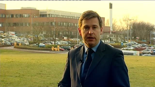 NHS Chief Executive to remain in post Staffordshire Stafford EXT Reporter to camera Manchester Families of victims of Stafford Hospital care scandal...