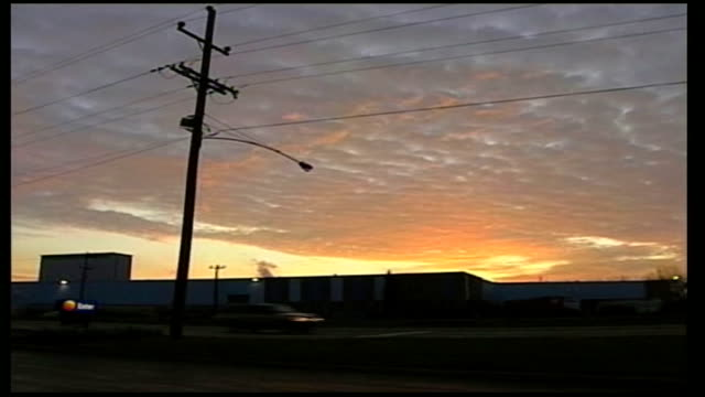 polling day pennsylvania levittown ext sunrise above traffic along on road pan sign 'patrick murphy democrat for congress' on grass verge at roadside... - levittown pennsylvania stock videos and b-roll footage