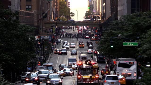 Midtown City Life on 42nd St Manhattan