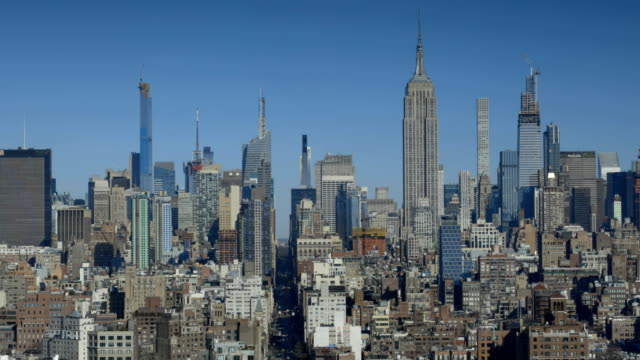 midtown cityscape - establishing shot stock videos & royalty-free footage
