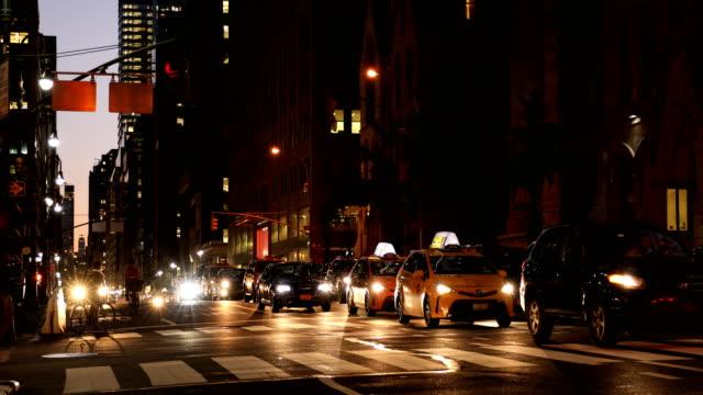 Midtown Evening Street Scene