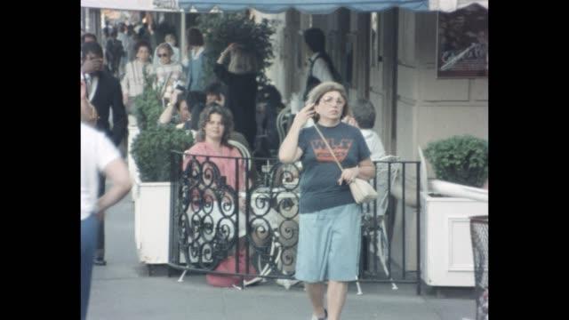 vídeos y material grabado en eventos de stock de 1985 nyc - midtown hotels - hospitalidad