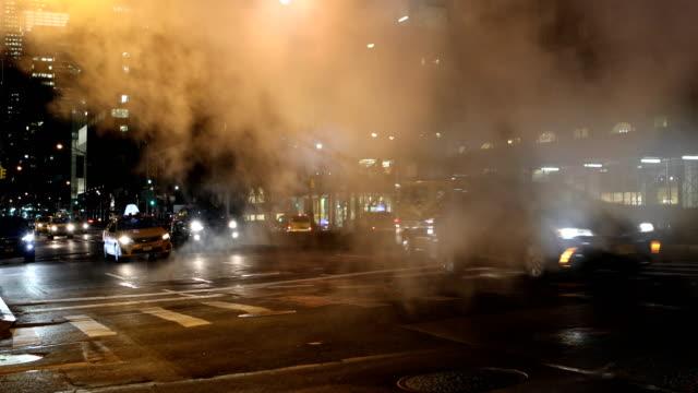 Midtown Manhattan Streets at Night
