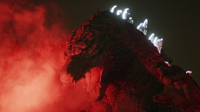 midtown meets godzilla - 2014 stock videos and b-roll footage