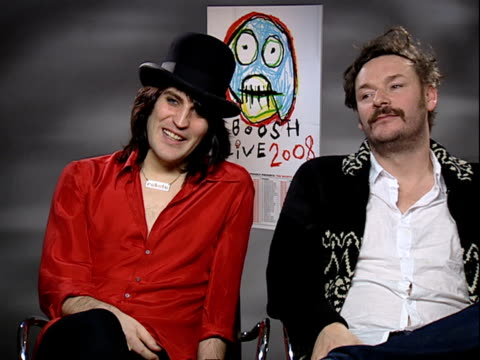 mighty boosh interview the mighty boosh interview sot on their stage show and frustrations of not being able to have as elaborate costumes as they'd... - intricacy stock videos & royalty-free footage