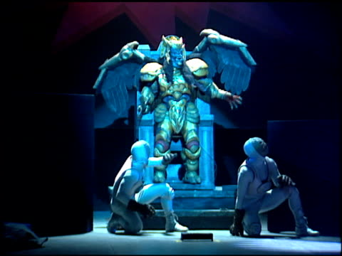 Mighty Morphin Power Rangers at the Mighty Morphin Power Rangers Live at Universal Amphitheatre in Universal City California on October 20 1994