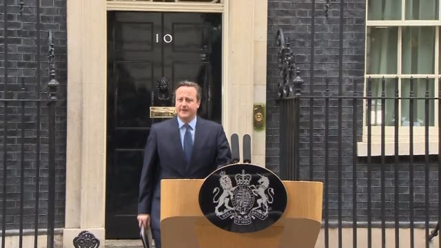 jungle residents to be moved / growing hostility in germany england london downing street ext prime minister david cameron mp from number 10 to make... - aggression stock videos & royalty-free footage