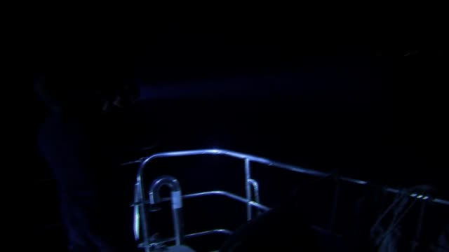 number of migrants arriving in greece by land or sea more than doubles aegean flashlight from boat picking out dingy of migrants in sea zoom in on... - mittelmeer stock-videos und b-roll-filmmaterial