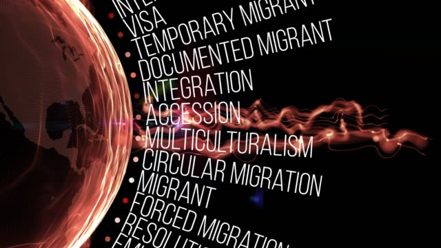 migration terms - undocumented immigrant stock videos & royalty-free footage