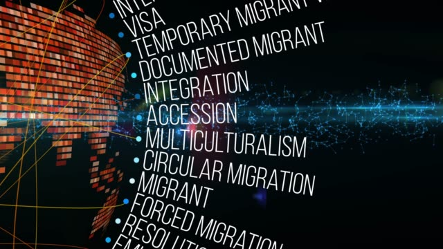 migration terms - multiculturalism stock videos & royalty-free footage