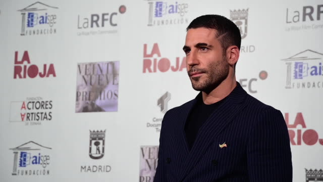 miguel angel silvestre attends the union de actores awards at the circo price on march 09, 2020 in madrid, spain. - silvestre stock videos & royalty-free footage