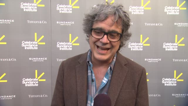 interview miguel arteta on roger ebert and what he meant to him on what the sundance institue has meant to him at 3rd annual 'celebrate sundance... - ryan coogler stock videos and b-roll footage