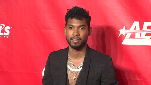 miguel at 2014 musicares person of the year honoring carole king at los angeles convention center on in los angeles california - musicares foundation stock videos & royalty-free footage