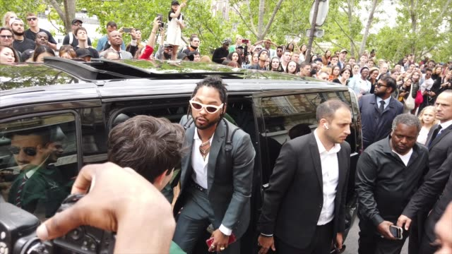 miguel is seen outside vuitton during paris fashion week menswear spring/summer 2020 on june 20 2019 in paris france - paris fashion week stock videos & royalty-free footage