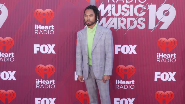 Miguel Mandi at the 2019 iHeartRadio Music Awards at Microsoft Theater on March 14 2019 in Los Angeles California