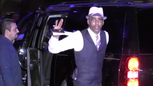 Miguel Nunez Jr arriving to see Kobe Bryant's final game at Staples Center in Los Angeles Celebrity Sightings on April 13 2016 in Los Angeles...