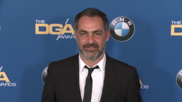 miguel sapochnik at 69th annual directors guild of america awards in los angeles ca - directors guild of america awards stock videos & royalty-free footage