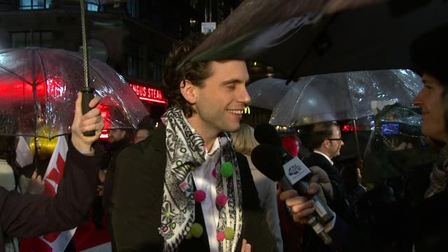 mika at the kickass uk premiere at london england - kick ass film title stock videos & royalty-free footage