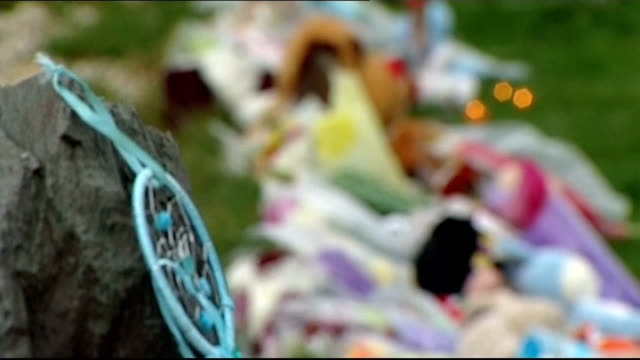 Mother due in court charged with his death Dream catcher PULL FOCUS floral tributes