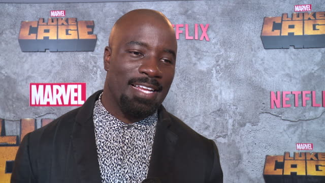 interview – mike colter on what's unique about luke cage why it's important for us to watch a character like luke on screen right now superheroes he... - edison ballroom stock videos & royalty-free footage
