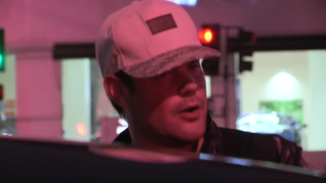 Mike Comrie departs Bootsy Bellows in West Hollywood 06/14/13