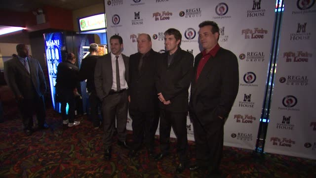 mike dusy, ron singer, scott marshall and scott reed at the 'all's faire in love' new york premeire at new york ny. - mike love stock videos & royalty-free footage