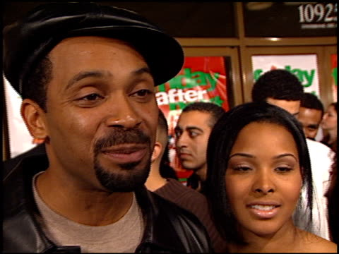 mike epps at the 'friday after next' premiere at the mann national theatre in westwood california on november 13 2002 - mann national theater stock videos and b-roll footage