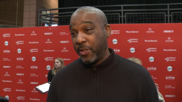 INTERVIEW Mike Jackson on shining a light on incarceration of young black men at the 'Monster' World Premiere 2018 Sundance Film Festival at Eccles...