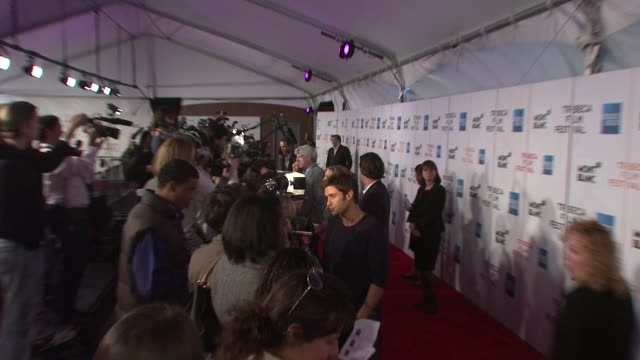mike lombardi at the 7th annual tribeca film festival finding amanda premiere at borough of manhattan community college / tribeca performing arts in... - community college stock videos & royalty-free footage