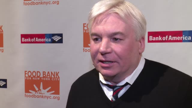 interview mike myers says he's not a foodie on his style of eating shares what he loves about the food bank on mario batali's philanthropic efforts... - foodie stock videos and b-roll footage