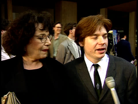 mike myers talks about romance - mike myers actor stock videos & royalty-free footage