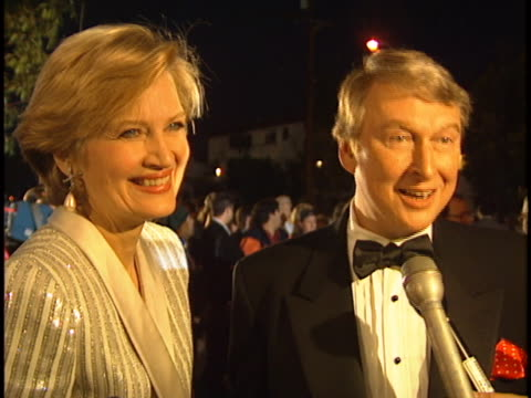 mike nichols at the comedy awards 94 at shrine - 宗教施設点の映像素材/bロール